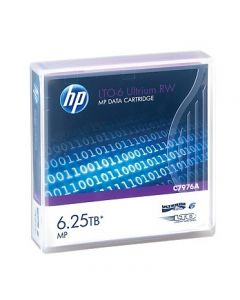 Hewlett Packard Enterprise LTO-6 Ultrium 6.25TB MP RW Data Cartridge