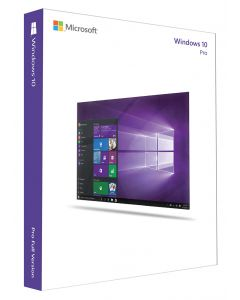 Windows 10 Pro EN - license and media -1 PC-OEM-DVD-64bit