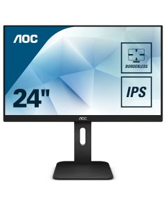 "AOC 24"" Full HD / HDMI, DVI, VGA (Incl. kabels) + DisplayPort / 3Y Warranty"