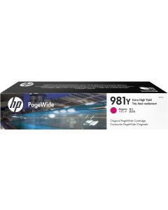 HP 981Y Extra High Yield Magenta Original PageWide Cartridge