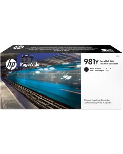 HP 981Y Extra High Yield Black Original PageWide Cartridge