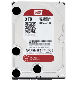 WD Red - NAS HDD - 3 TB - internal - 3.5