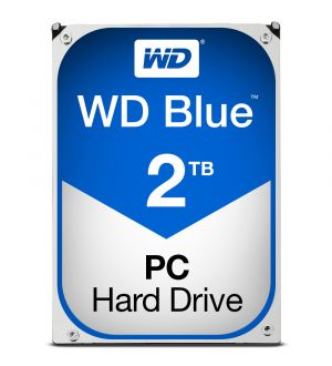 WD Blue - HDD - 2 TB - internal - 3.5