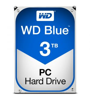 WD Blue - HDD - 3 TB - internal - 3.5