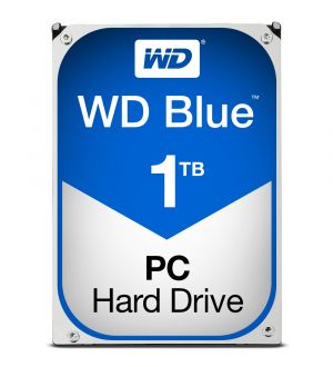 WD Blue - HDD - 1 TB - internal - 3.5