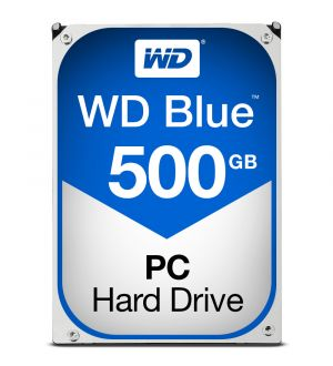 WD Blue - HDD - 500 GB - internal - 3.5
