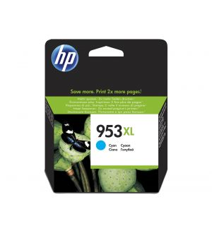 HP 953XL Cyan Original Ink Cartridge 20ml 1600pagina's Cyaan inktcartridge