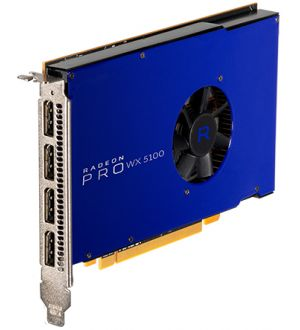 AMD Radeon Pro WX 5100 8GB Graphics