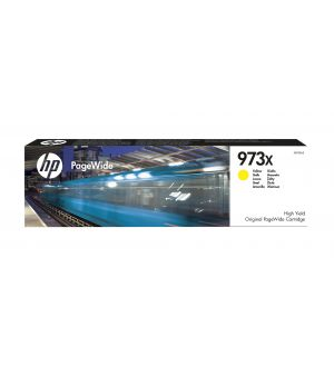 HP 973X high yield yellow original PageWide cartridge