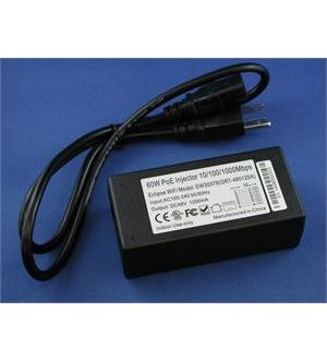1 port 30W POE+ Injector for XR500 series or XR600 series AP
